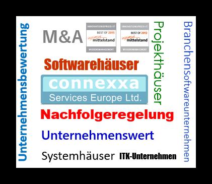 Wie lange verbleiben Unternehmensverkäufer nach dem Verkauf als Geschäftsführer im Softwareunternehmen?