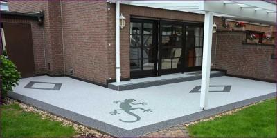 Steinteppich als das ideale Material zur Terrassensanierung