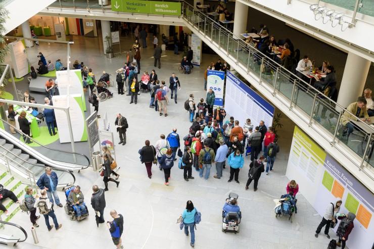 Werkstätten:Messe 2018: Innovative und inklusive Unternehmen präsentieren sich in Nürnberg
