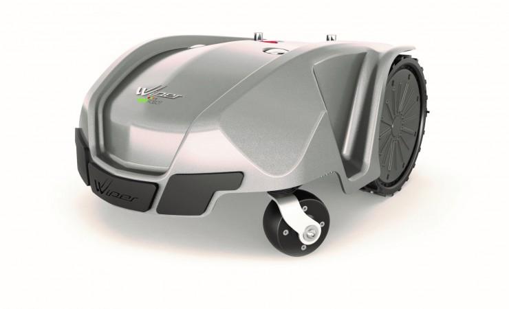 Neue Roboterrasenmäher für kleine und große Gärten: Wiper Walker Line und Wiper P70