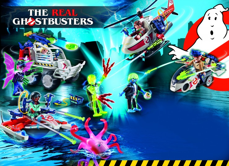 The Real Ghostbusters - paranormale Action mit PLAYMOBIL