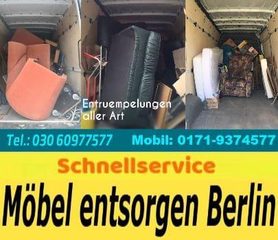 Haushaltsauflösungen Berlin Tel. 03060977577