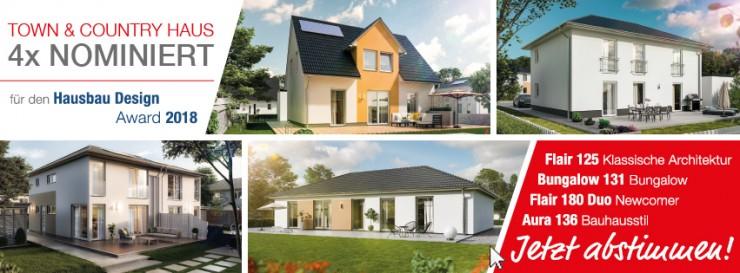 Hausbau Design Award 2018  Wählen Sie Ihr Lieblingshaus!