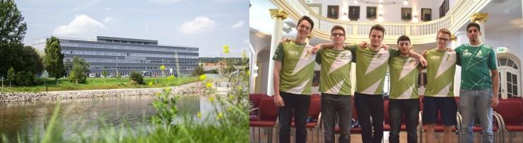 In Geras größter Gewerbeimmobilie ElsterCube startet erstes eSport-Leistungszentrum in Thüringen