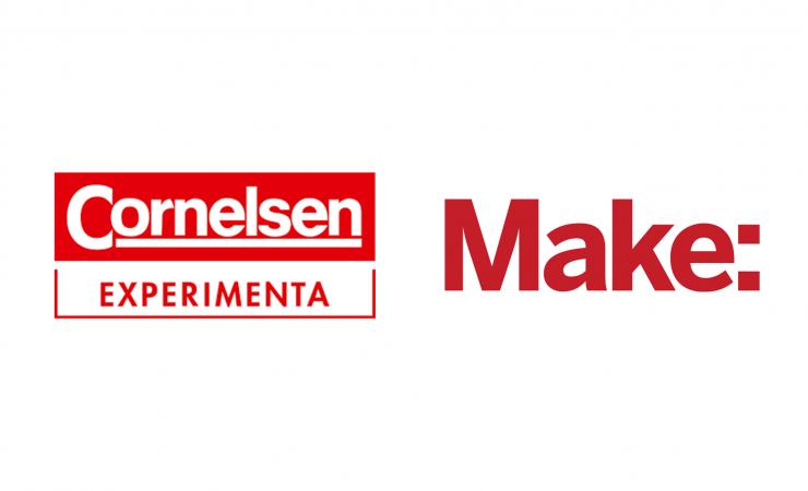 Make Schulwettbewerb 2018 gestartet - Cornelsen Experimenta und Make-Magazin von Heise Medien kooperieren