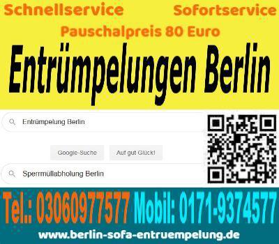 Entsorgungsdienst Berlin Sperrmüll Entsorgung