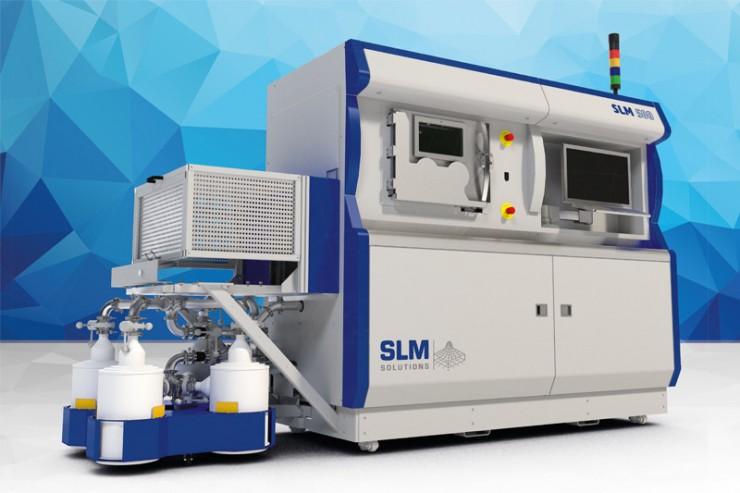 SLM Solutions als eines der innovativsten Unternehmen Deutschlands gekürt