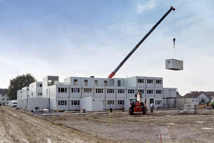 Raummodule retten Riesenprojekt