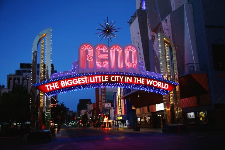 Eine entspannte Metropole im Westen von Nevada