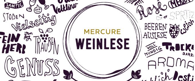 Regionales bei Mercure: Die neue Weinkarte ist da