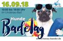 4. Hanauer Hundebadetag am 16.9.2018 im Lindenaubad Hanau-Großauheim