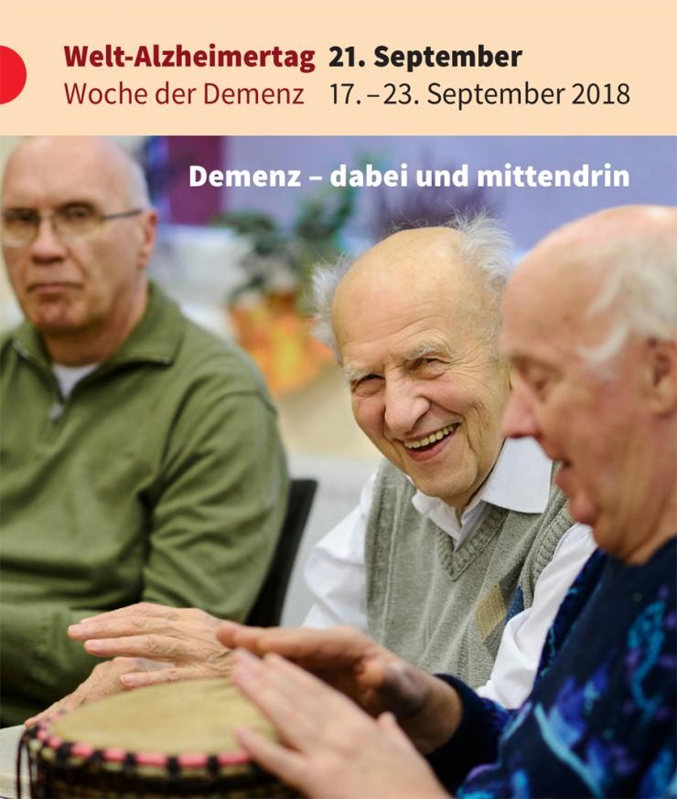 Demenz - dabei und mittendrin - Gemeinsame PM von DAlzG, DGGPP und Hirnliga zum Welt-Alzheimertag