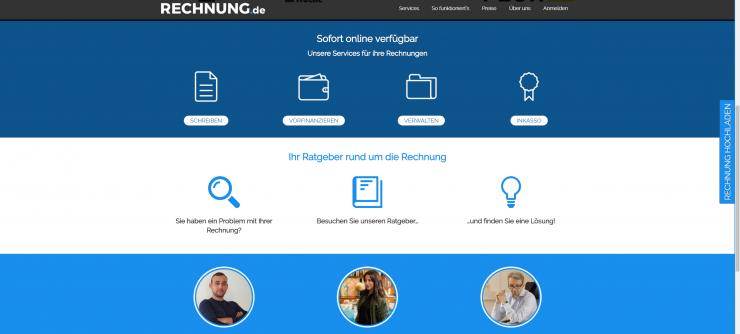 RECHNUNG.de vergibt 10 Millionen Euro kostenlose Liquidität  an Selbstständige und kleine Unternehmen