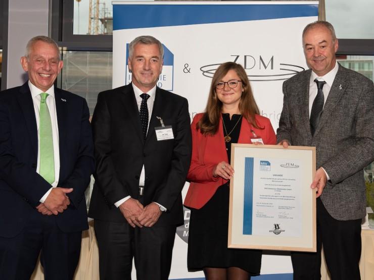 DMK-Standort Zeven ist der Ausbildungsbetrieb der deutschen Milchwirtschaft 2018!