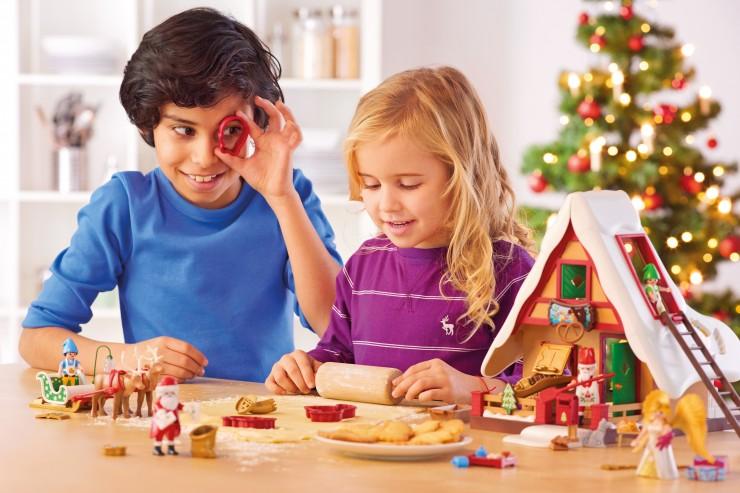 In Weihnachtsstimmung mit PLAYMOBIL