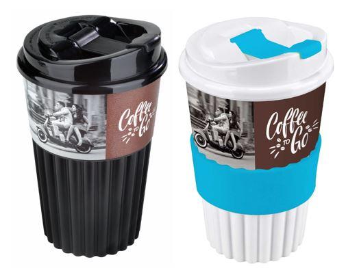 Nachhaltige Mehrweg - To Go - Becher nicht nur für unterwegs und nicht nur für Kaffee geeignet - jetzt ganz neu beim Trinkflaschenexpress
