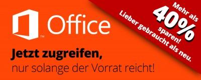 Jetzt mehr als 40% sparen mit gebrauchtem Microsoft Office 2016 statt neue Microsoft Office 2019 Volumenlizenzen kaufen
