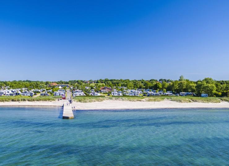 Die Ostseeinsel Fehmarn gehört zur Camping-Elite Europas