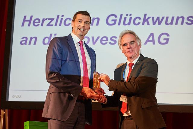 Covestro erneut mit dem Deutschen Chemie-Preis Köln ausgezeichnet