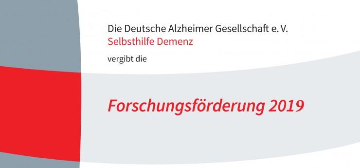 Erforschung der Alzheimer-Demenz im Frühstadium:  Deutsche Alzheimer Gesellschaft schreibt Forschungsförderung aus