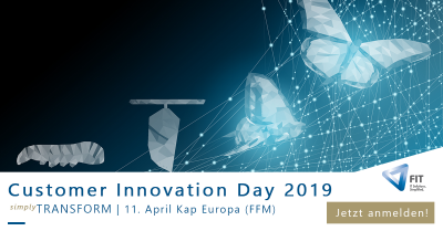 FIT Customer Innovation Day: IT-Business-Konferenz von Freudenberg IT am 11. April 2019 in Frankfurt am Main