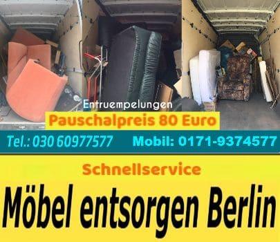 Berlin Wohnungsentrümpelung pauschal