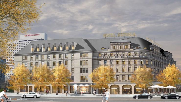 Komplexer Neustart: LeitWerk AG übernimmt Baumanagement bei Sanierung des Grandhotels Astoria Leipzig