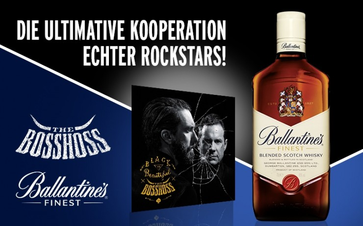 The BossHoss katapultiert Ballantines in die Rock Liga