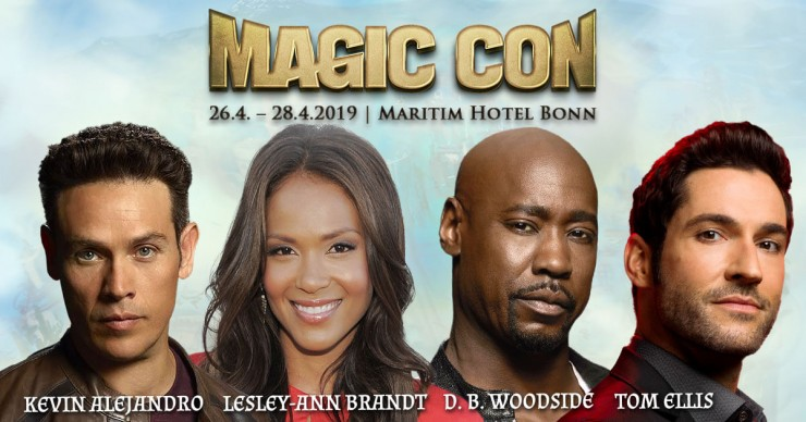 MagicCon 3: Lucifer Haupt-Cast kommt nach Bonn