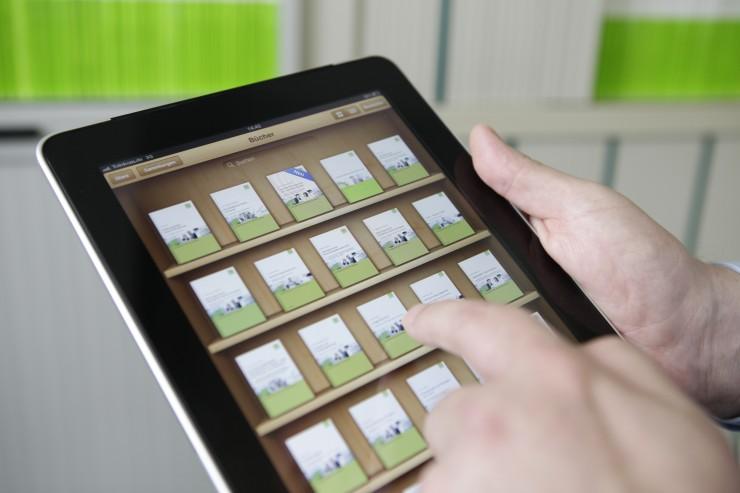 DATEV macht das Tablet zum mobilen Aktenschrank