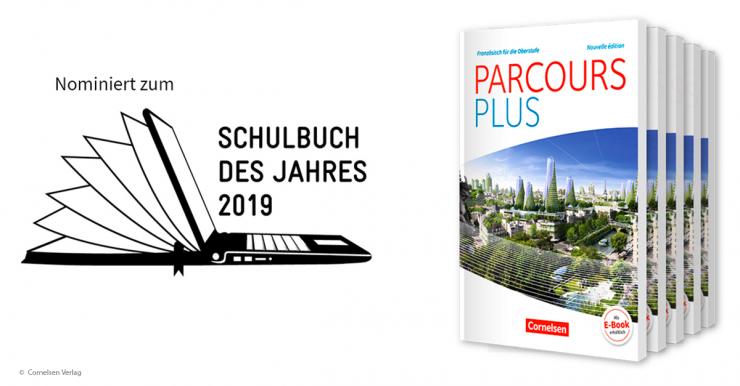 Französischlehrwerk Parcours Plus zum Schulbuch des Jahres nominiert