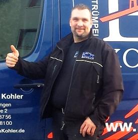 Interview mit Gerhard Kohler, Inhaber der Firma Entrümpelungen Kohler