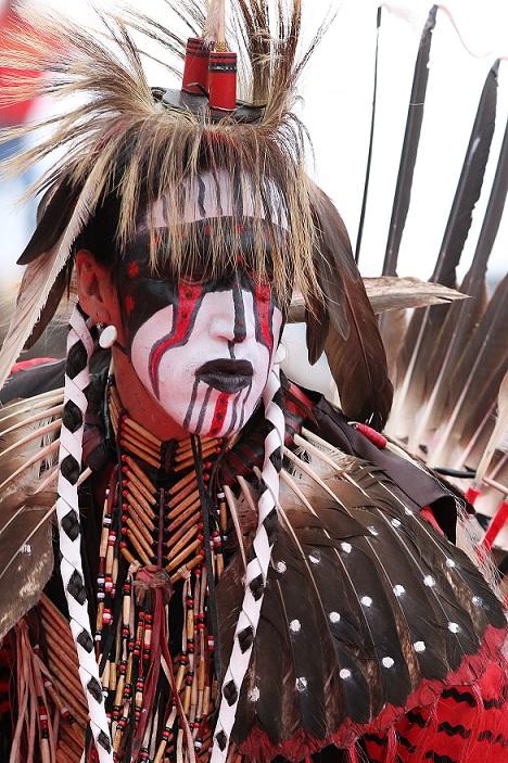 Inspirierend indigen!