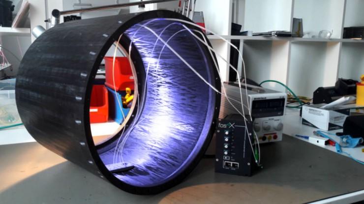 fos4X Messtechnik in Rakete an der Grenze zum Weltraum