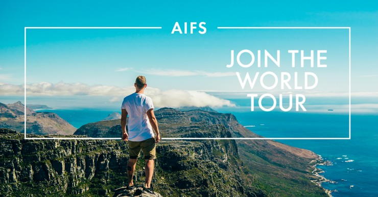 AIFS Join the World Tour: So geht man ins Ausland