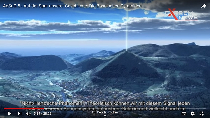 Wissensrevolution durch die Entdeckung der Bosnischen Pyramiden