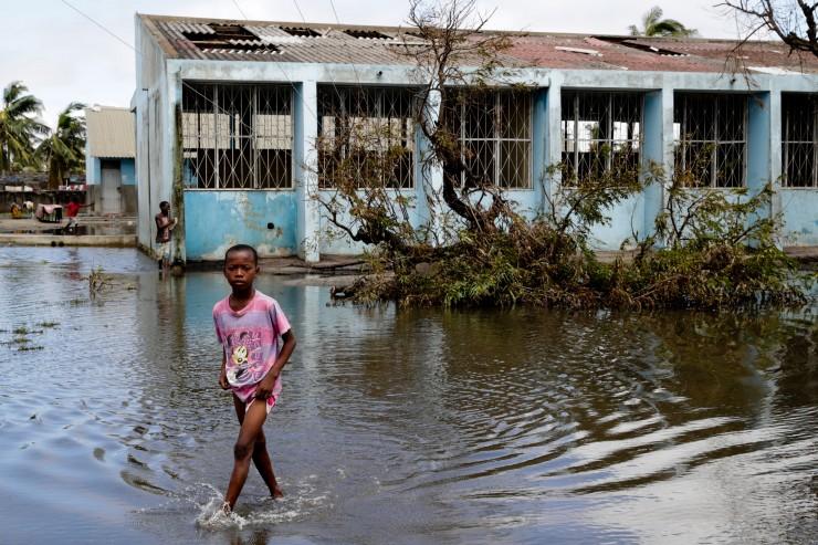 Apokalyptisches Chaos nach Wirbelsturm in Mosambik: 260.000 Kinder in Lebensgefahr
