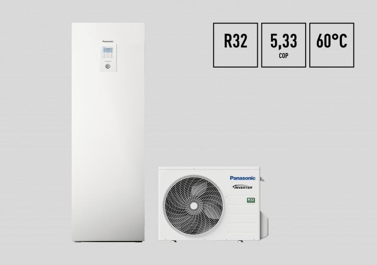 Die neuen AQUAREA Luft/Wasser-Wärmepumpen mit dem Kältemittel R32
