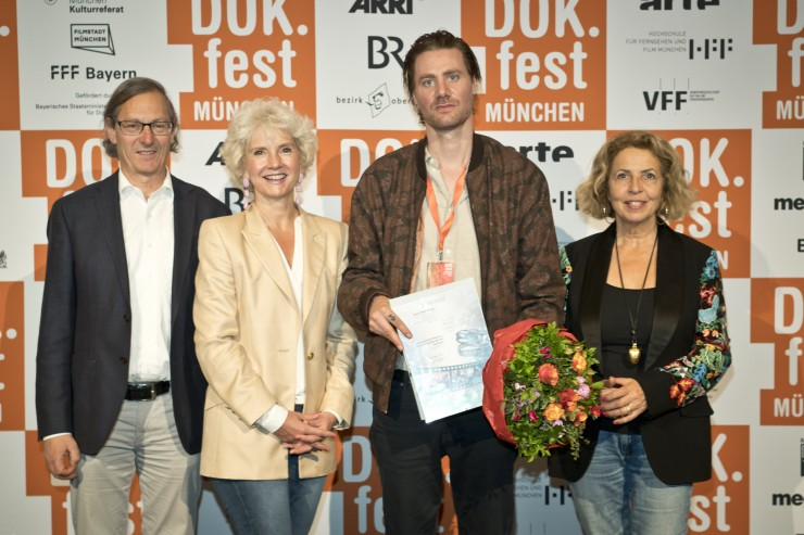 Ehrung für Filmemacher Joost Vandebrug