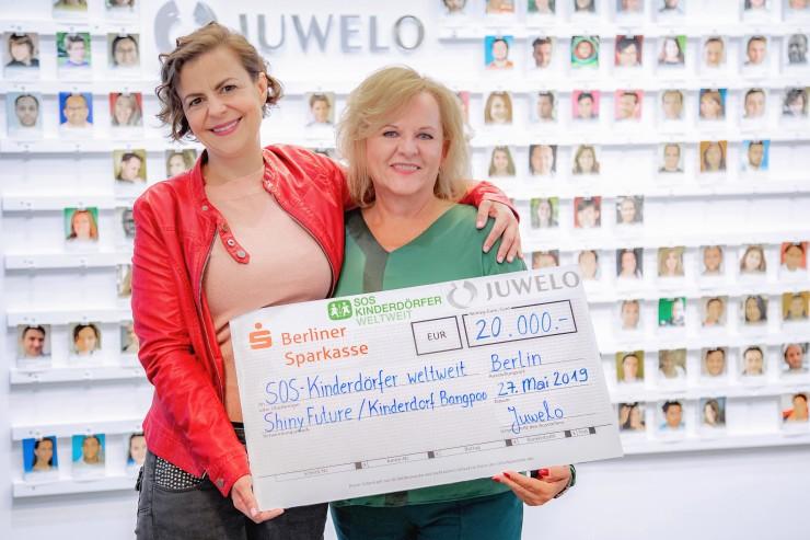 ?SOS-Kinderdörfer erhalten durch Juwelo-Schmuckkollektion über 55.000 Euro