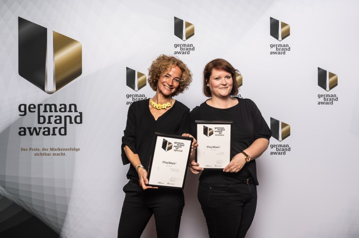 Internationale Bio-Spielzeugmarke PlayMais® gewinnt den German Brand Award 2019 in der Kategorie