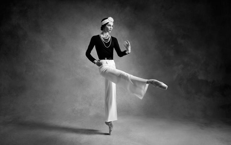 Weltpremiere des Balletts GABRIELLE CHANEL im Bolshoi Theater Moskau mit Svetlana Zakharova.