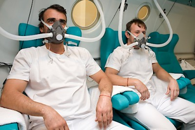 Sauerstoff-Druckkammer für österreichische Notfallpatienten