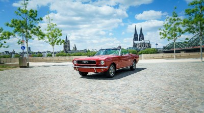 Relaunch der Unternehmenswebsite: Mustang Oldtimervermietung erweitert Angebot