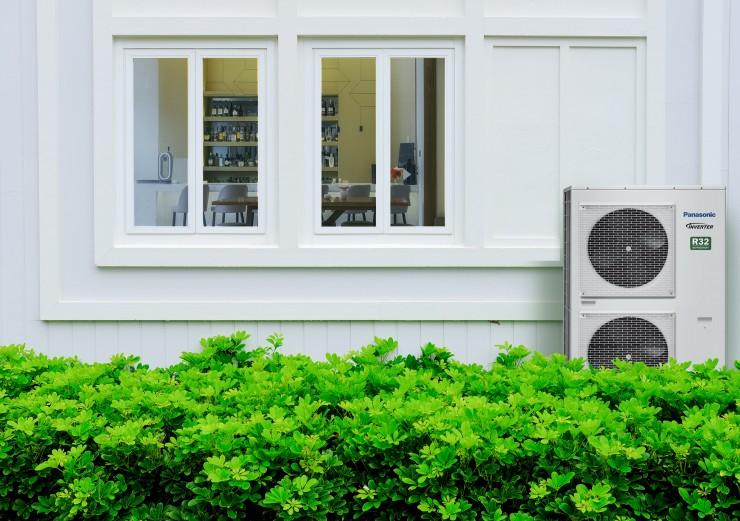 Panasonic: Leistungsstarke R32 PACi-Klimasysteme mit 20 und 25 kW