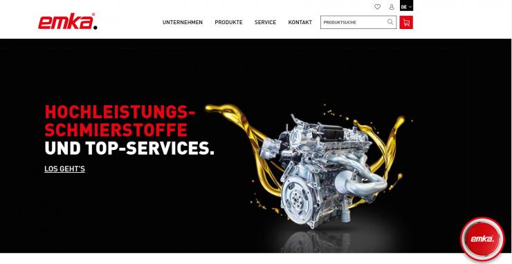 Mediagraphik launcht innovative B2B-Plattform der EMKA Schmiertechnik GmbH auf Basis der Shopware Enterprise B2B-Edition