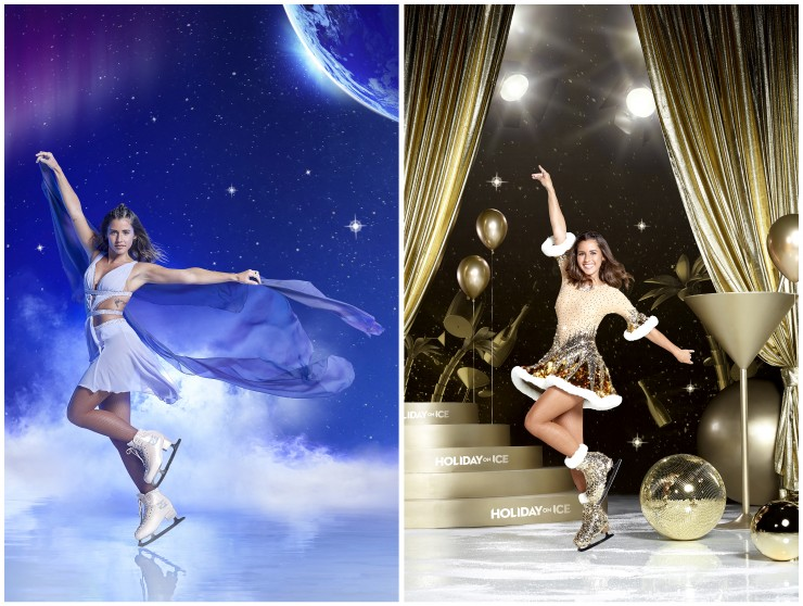 Sarah Lombardi taucht ein in die Welt von HOLIDAY ON ICE