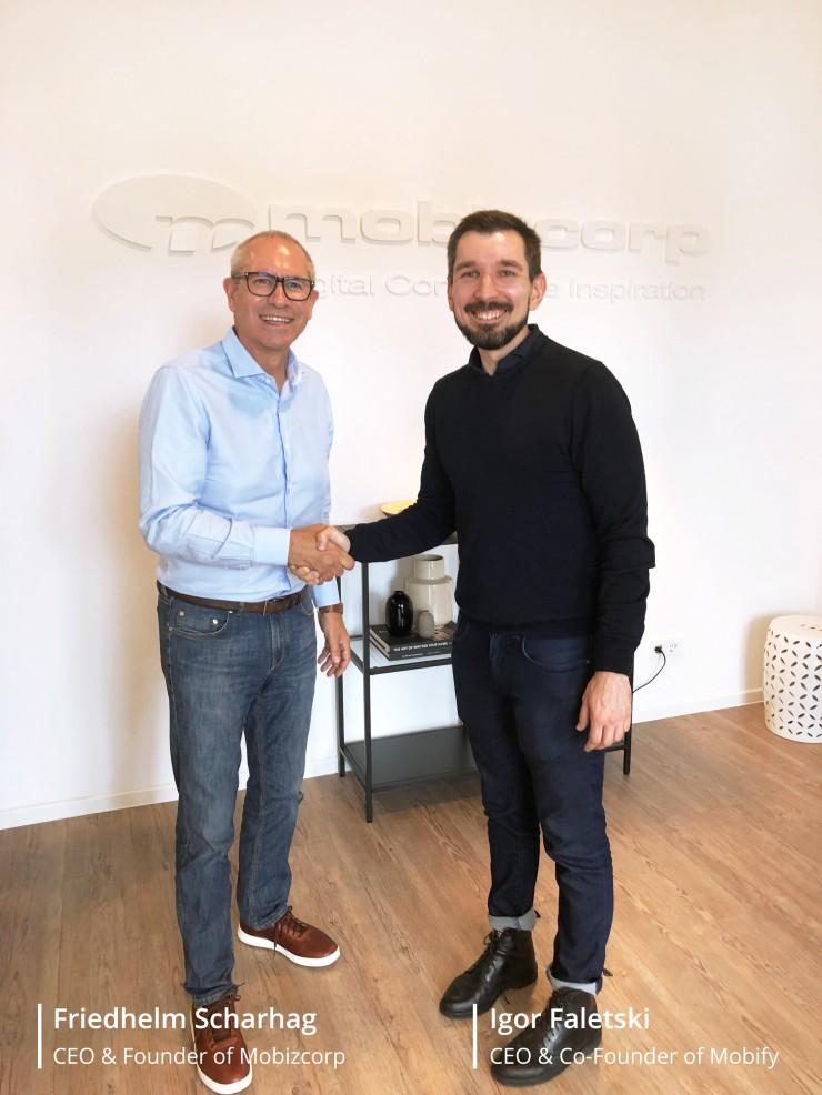 Mobify und Mobizcorp werden Partner für kundenorientierte digitale Transformation mit der Frontend-as-a-Service Lösung
