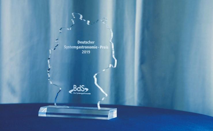 Das sind die Nominierten für den Deutschen Systemgastronomie-Preis 2019: Jury hat drei Nominierte ausgewählt  Die Verleihung findet am 20. September 2019 beim BdS-Mittagsempfang in München statt