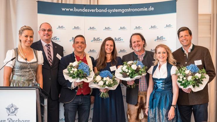 Deutscher Systemgastronomie-Preis 2019 verliehen  So viele Gäste wie noch nie beim BdS-Mittagsempfang